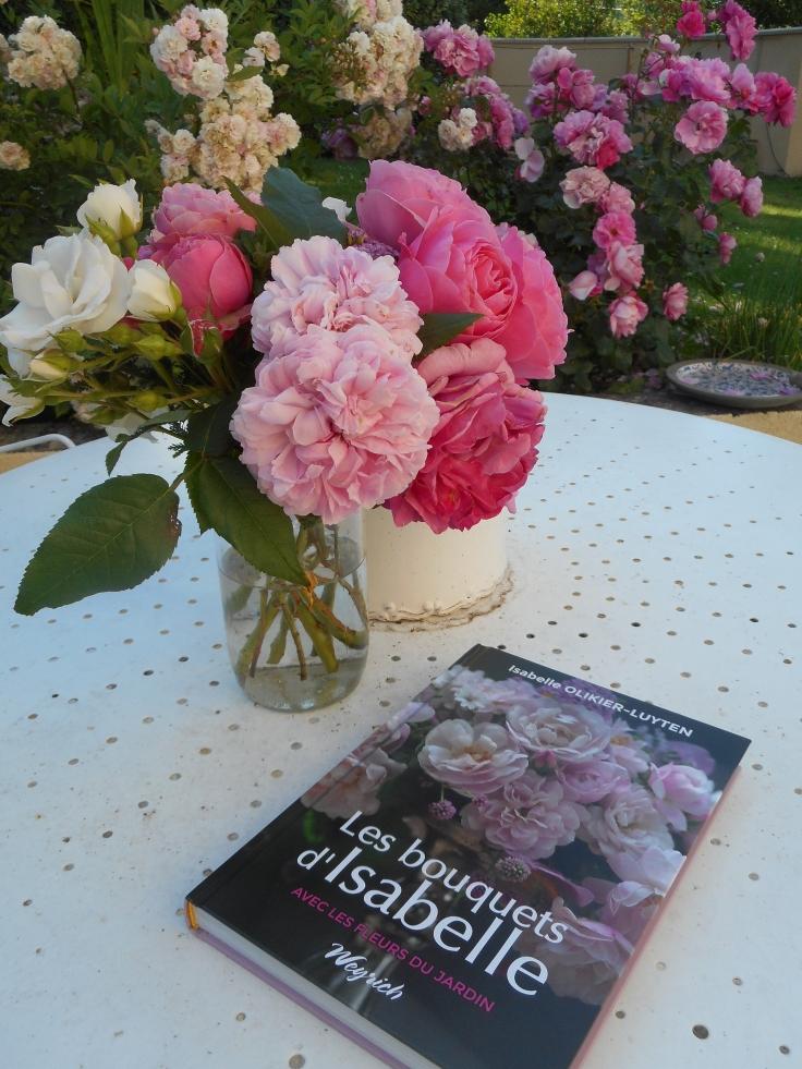 Livre les bouquets d'isabelle